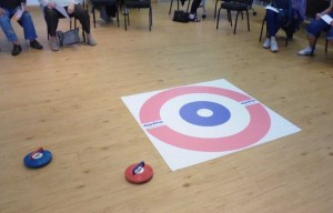 Almost there! New Age Kurling takes practice