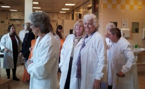 We all don our lab coats so we look the part!