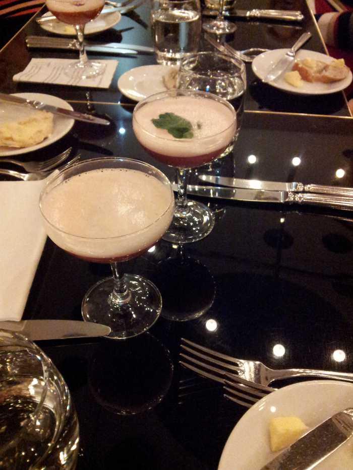 Cocktails at Harvey Nichols