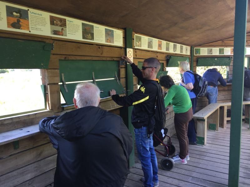 Strollers at Fairburn Ings