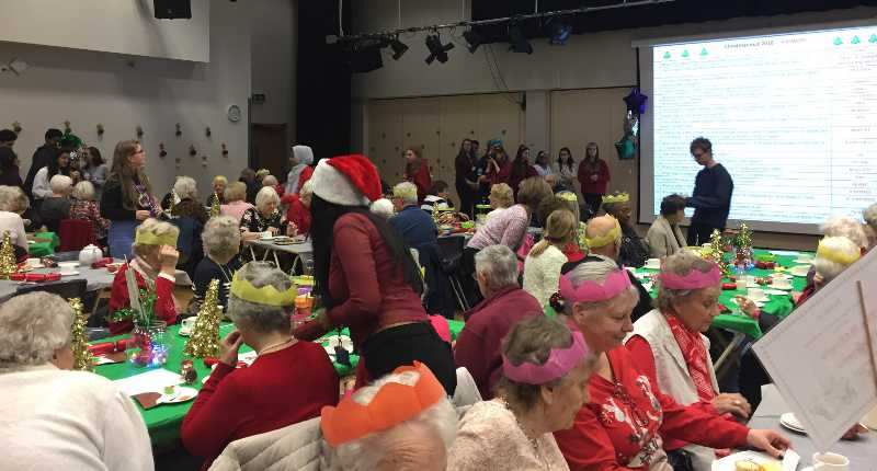 Allerton High Christmas Party 2108