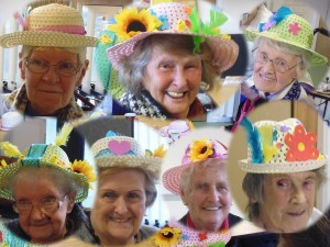 Easter Bonnets at MAECare