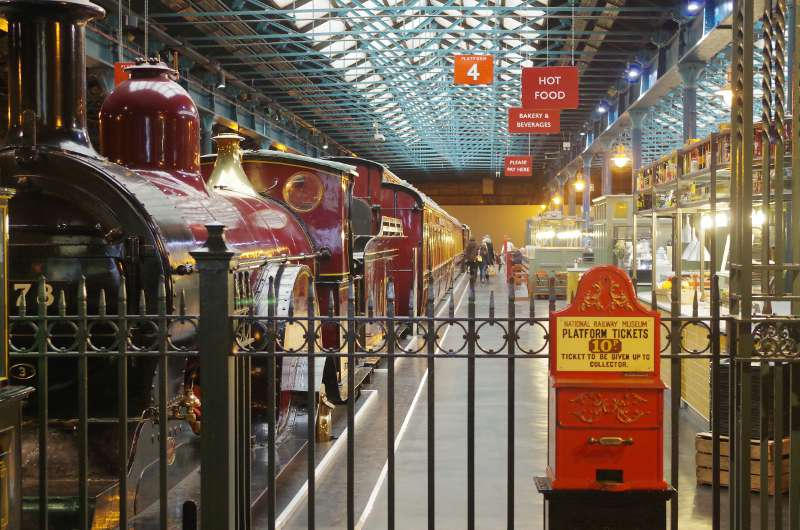 Platform 4 at the NRM in York