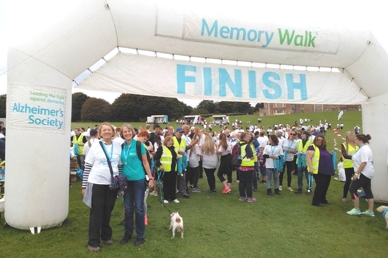 Doing the Memory Walk at Temple Newsam