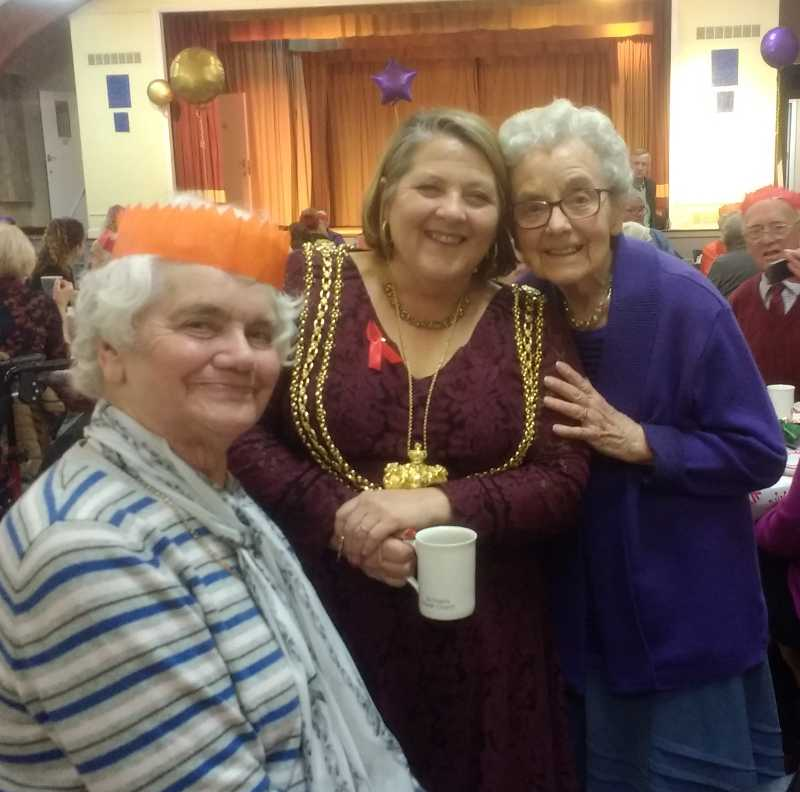The Lions Christmas tea 2017